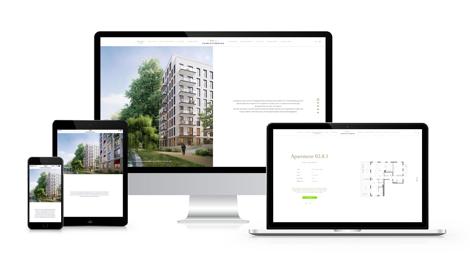 no1 charlottenburg responsive website